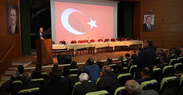 Bayburt'ta seçim güvenliği toplantısı