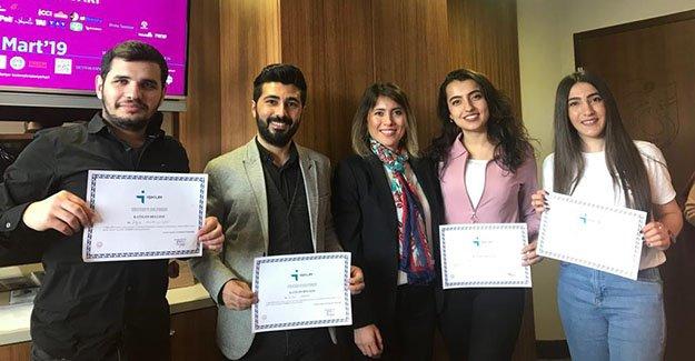 Bayburt Üniversitesi Öğrencileri Karadeniz Kariyer Fuarına katıldı