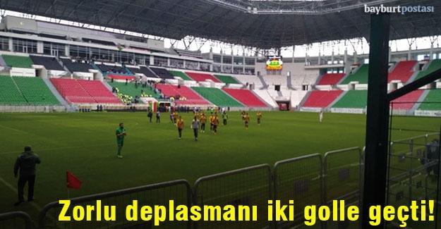 Zorlu Diyarbakır deplasmanını iki golle geçti!