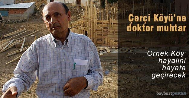 Çerçi Köyü Muhtarı Doktor Aslan Özkan