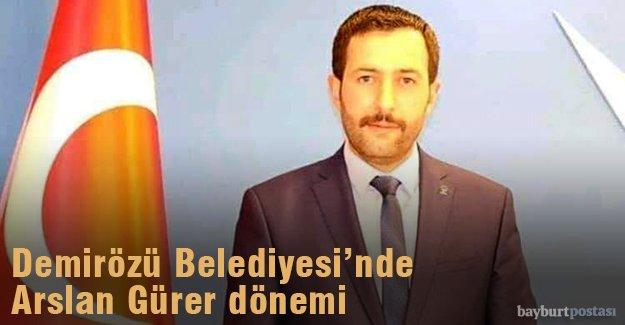 Demirözü'nde AK Partili Arslan Gürer açık ara farkla aldı