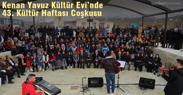 Kenan Yavuz Kültür Evi'nde Turizm Haftası coşkusu