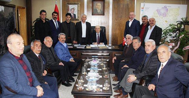 Mahalle muhtarlarından Başkan Pekmezci'ye ziyaret