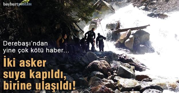 Abdulkadir Nişancı'yı arayan iki asker suya kapıldı!