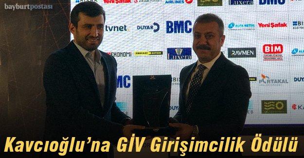 Kavcıoğlu'na Basın/Yayın Ödülü