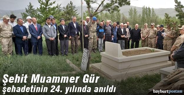 Şehit Muammer Gür kabri başında dualarla anıldı