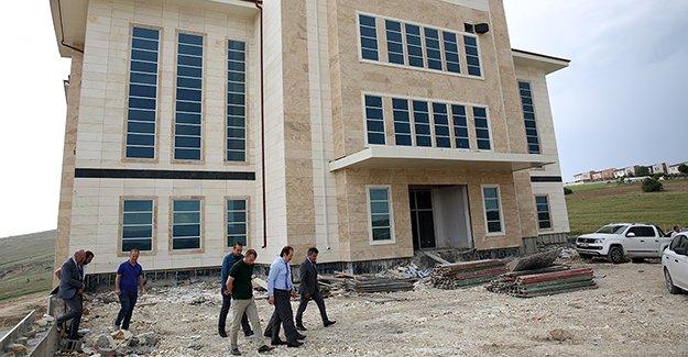 112 Acil Çağrı Merkezi inşaatında sona gelindi