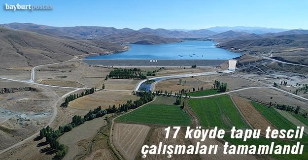 17 köyün tapu tescil çalışmaları tamamlandı