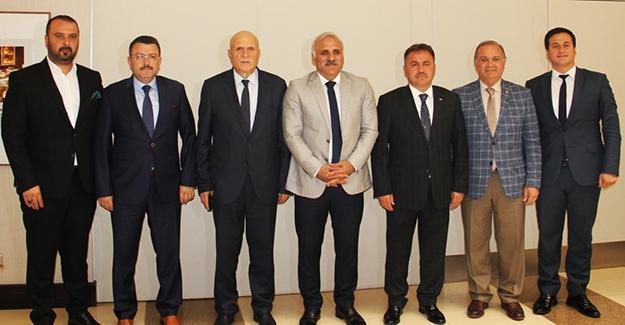Başkan Pekmezci, DKBB Encümen üyeliğine seçildi