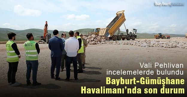 Bayburt-Gümüşhane Havalimanı inşaatında son durum