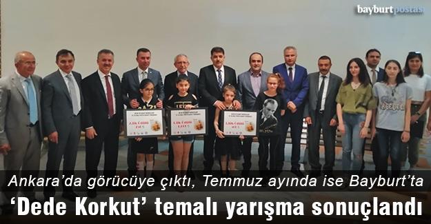 """""""Dede Korkut Kitabından Yansıyanlar' temalı yarışma"""
