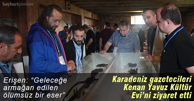 Kenan Yavuz Kültür Evi, Karadeniz gazetecilerini ağırladı