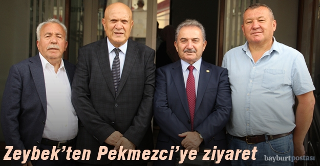 Bakan Zeybek'ten Bayburt Belediyesi'ne ziyaret