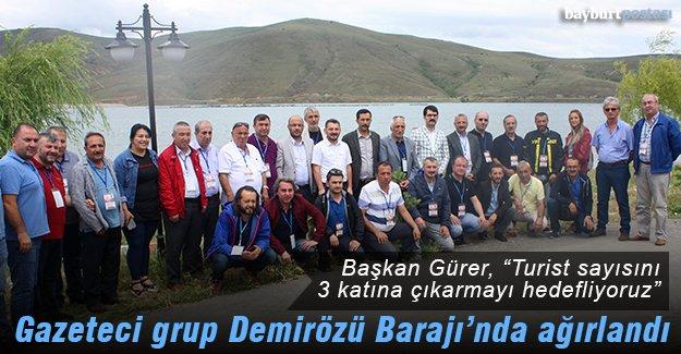 Başkan Arslan Gürer, bölge gazetecilerini ağırladı