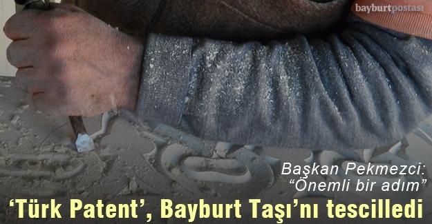 Bayburt Belediyesi, Bayburt Taşı'nı tescilletti