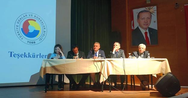 Bayburt'ta U-ETDS Sistemi ve Takograf Sistemi Bilgilendirme toplantısı