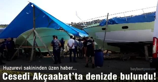Cesedi Akçaabat'ta denizde bulundu!