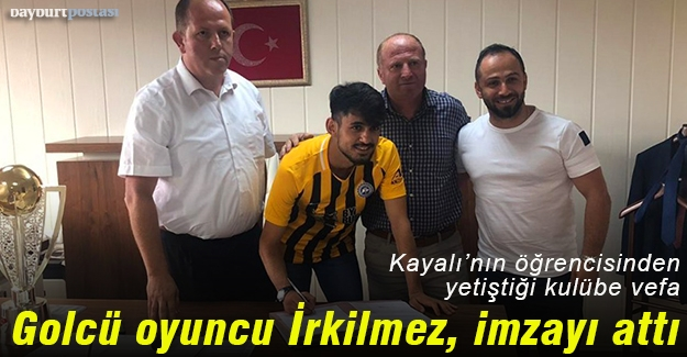 Golcü oyuncu Sertan İrkilmez, Bayburt İl Özel İdarespor'da