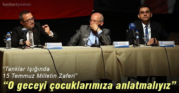 """""""Tanklar Işığında 15 Temmuz Milletin Zaferi"""""""