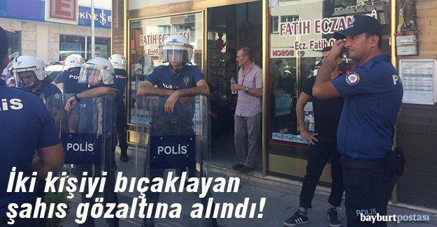 2 kişiyi bıçaklayan şahıs gözaltına alındı!