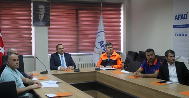"""Bayburt AFAD'dan """"Afetlere Hazırlık Yılı"""" toplantısı"""