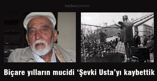 Biçare yılların mucidi Şevki Özdemir'i kaybettik...
