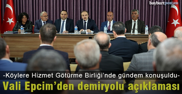"""Vali Epcim: """"İhalesinin yapıldığı söylemleri gerçek değil"""""""