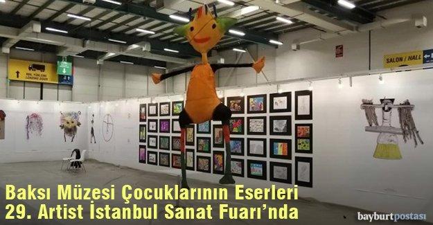Baksı Müzesi Çocuklarının Eserleri 29. Artist İstanbul Sanat Fuarı'nda
