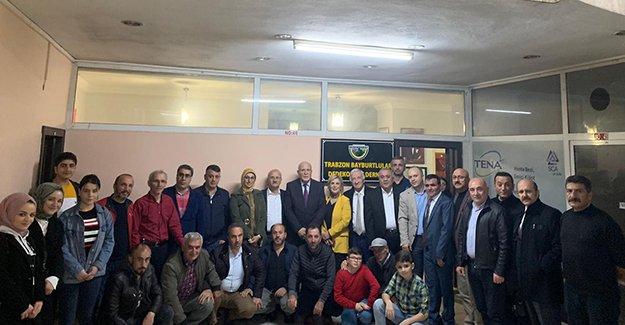 Başkan Pekmezci'den Trabzon'daki Bayburt derneklerine ziyaret