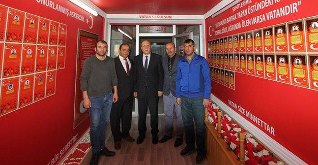Başkan Pekmezci'den ziyaretler