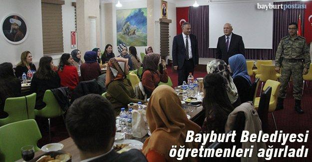 Bayburt Belediyesi öğretmenleri ağırladı