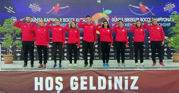 Bocce Türk Milli Takımı'ndan Tarihi Başarı