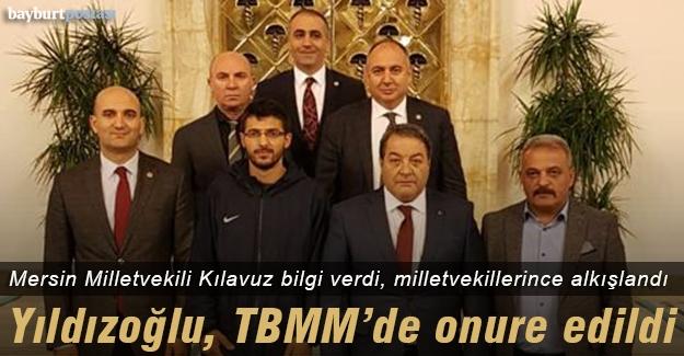Dünya Şampiyonu Yıldızoğlu, TBMM'de onure edildi