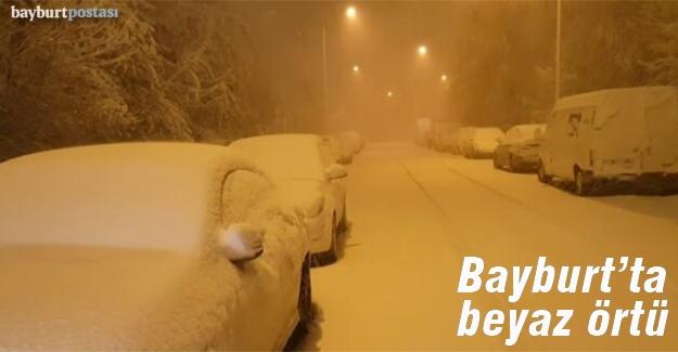 Kar, gece yağdı; gündüz kalktı!