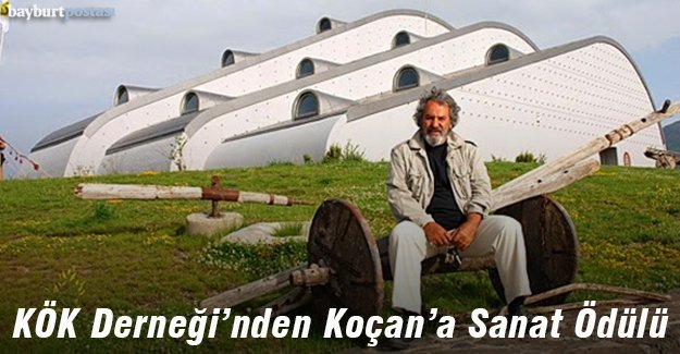 KÖK Derneği'nin Sanat Ödülü Prof. Koçan'a