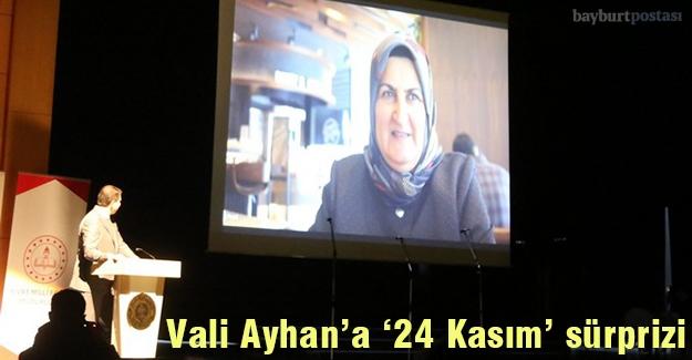 Vali Ayhan'a Öğretmenler Günü sürprizi