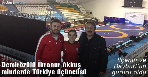 İkranur Akkuş, Güreşte Türkiye Üçüncüsü