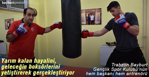 Kamil Büyükdağ, hayalini geleceğin boksörlerini yetiştirerek gerçekleştiriyor