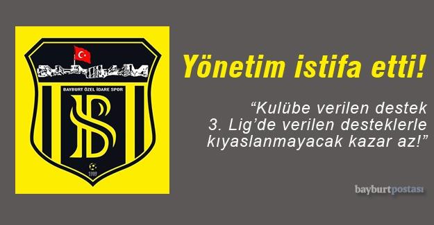 Sakaryaspor maçı sonrası yönetimden istifa!