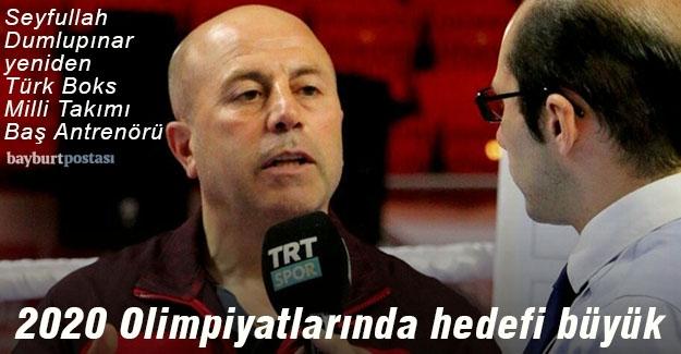 Türk Boks Milli Takımı, olimpiyatlarda Seyfullah Dumlupınar'a emanet