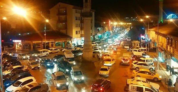 Bayburt'ta araç sayısı artıyor