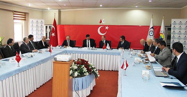 KUDAKA Yönetim Kurulu, Erzurum'da toplandı