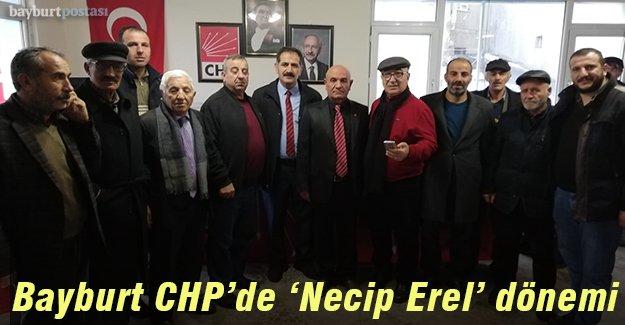 CHP Bayburt İl Başkanı Necip Erel