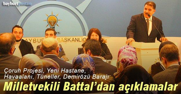 Milletvekili Battal'dan açıklamalar