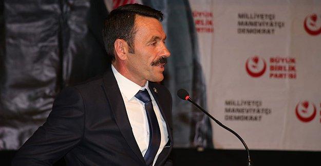 BBP'den MHP İl Başkanına tepki!