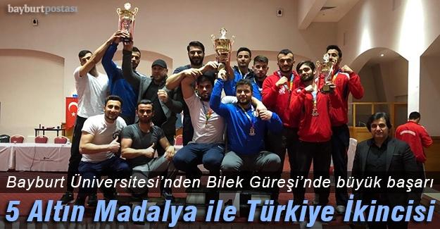Bilekçiler 5 Altın Madalya ile Türkiye İkincisi