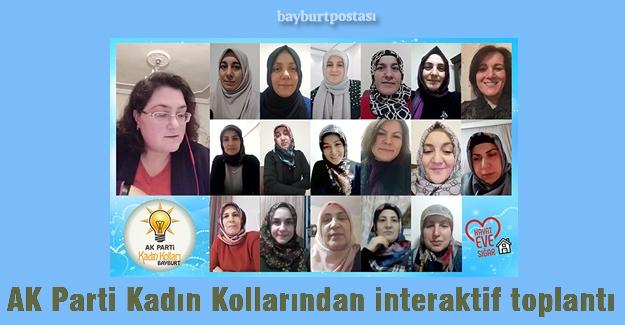 AK Parti Kadın Kolları, interaktif olarak toplandı