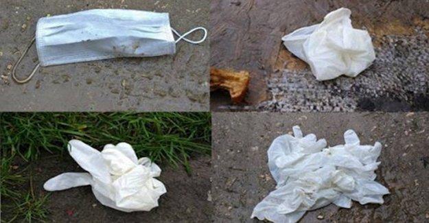 Belediyeden 'maske ve eldivenleri gelişigüzel atmayalım' uyarısı