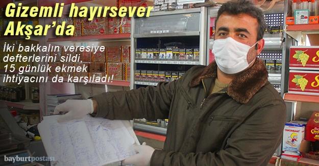 Gizemli hayırsever Akşar'da