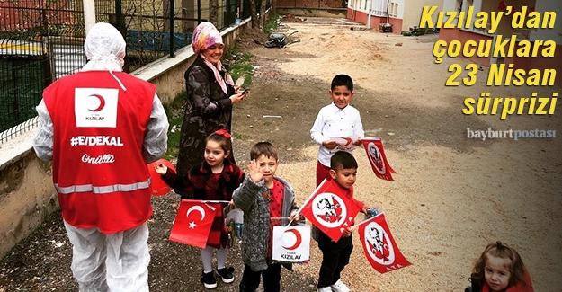 Kızılay'dan çocuklara 23 Nisan sürprizi